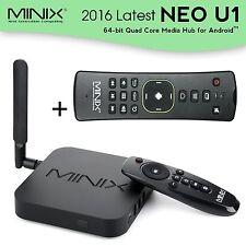 MINIX NEO U1 4K TV Box S905 Quad-core 64 Bit Streaming Media Player+A2 Lite