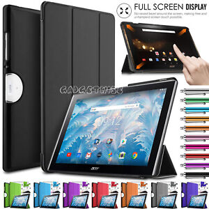 New-Flip-Leather-Stand-Magnetic-Smart-Case-cover-For-Acer-Iconia-One-10-B3-A40