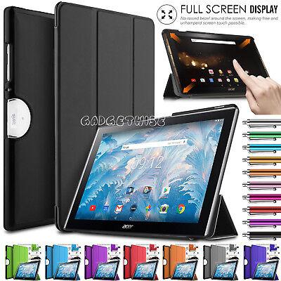 "10.1/"" Premium in Pelle Stand Tablet Flip Cover Custodia per Acer Iconia One 10 B3-A40"
