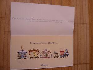 DISNEY-Paris-034-1998-THE-YEAR-OF-DISNEY-CLASSICS-034-RARE-LITHO-N-1293-1500