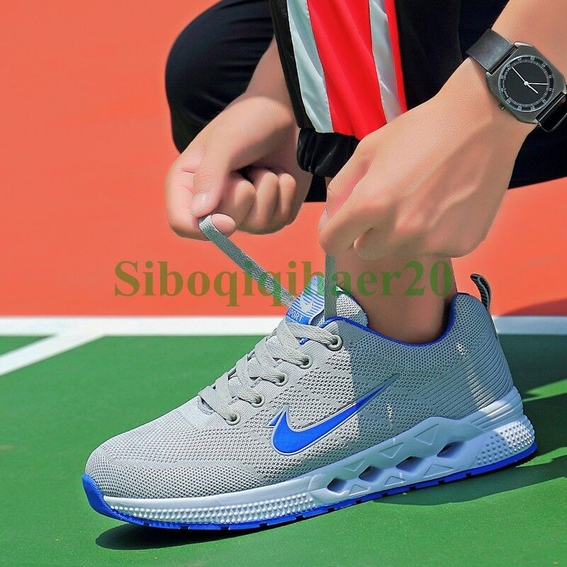 Hot Men's Outdoor Breathable Shoes Sports Running Walking Athletic Sneakers SIBO