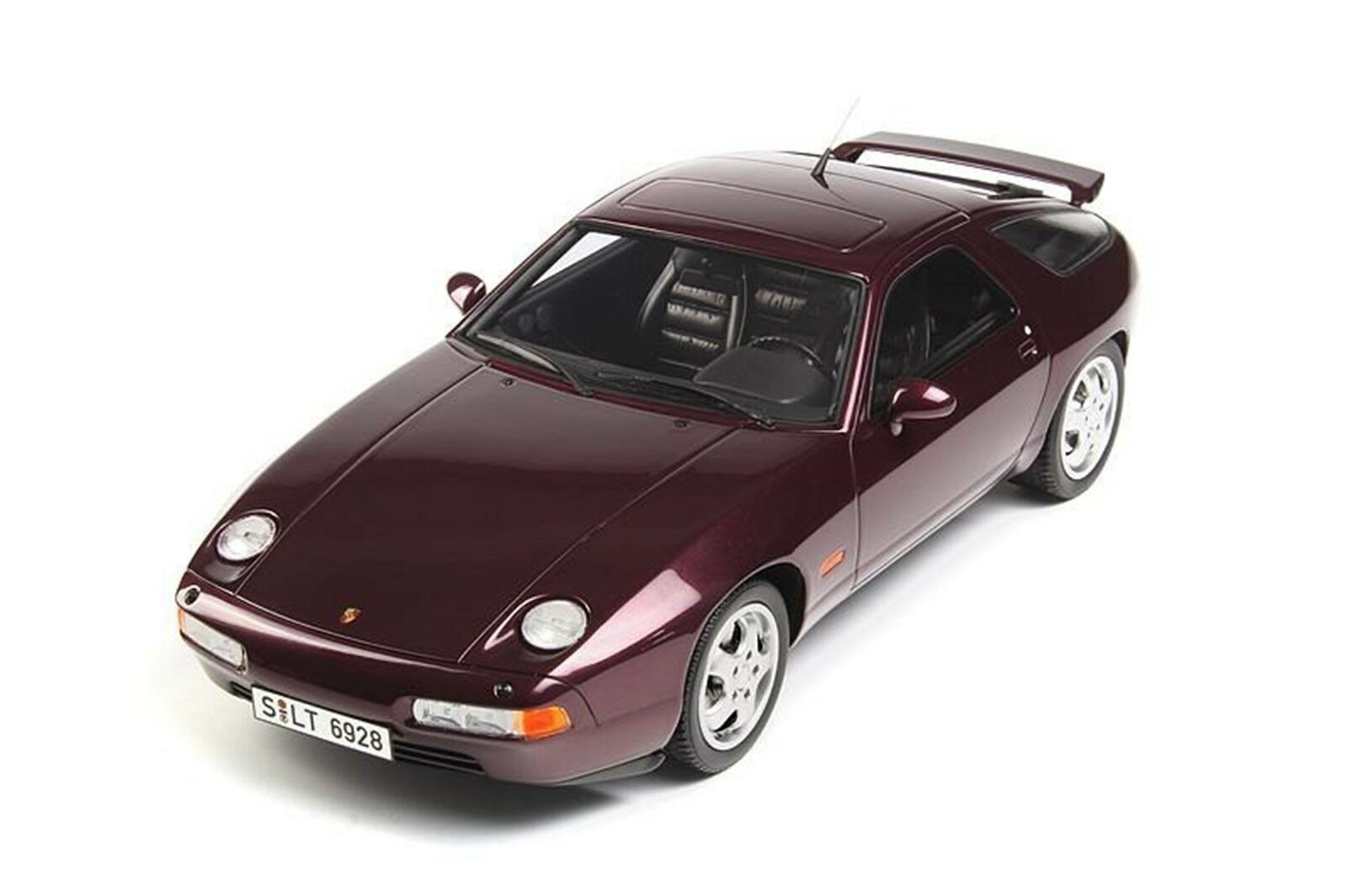 GT Ande 1992 Porsche 928 GTS Burgundy Färg LE of 500 Super Sällsynt