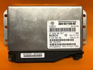 VW AUDI BOSCH TCM TRANSMISSION CONTROL MODULE OEM 3B0 927 156 AH