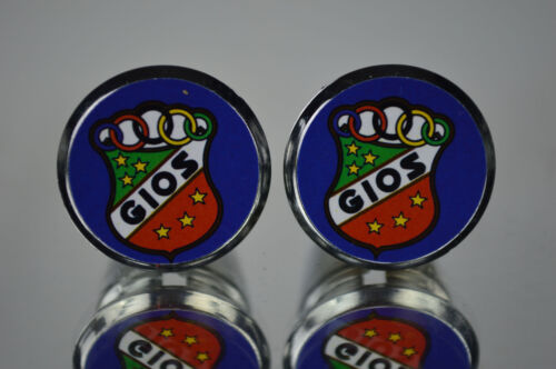 new Gios Torino Handlebar End Plugs Bar Caps vintage guidon bouchons calotte