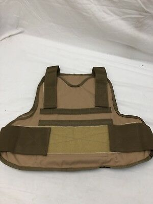 LBT 2729G-M Coyote Tan Survival Armor Carrier Medium 10x12