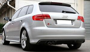 Audi A3 8p Rear Diffuser