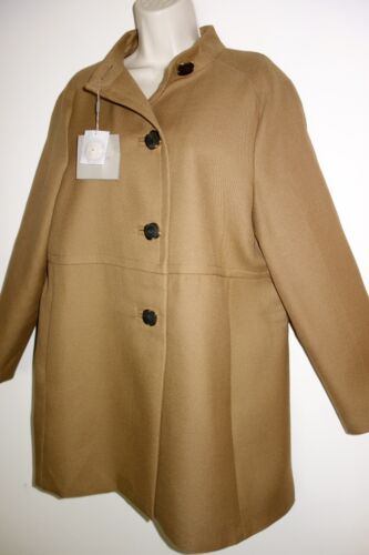 avec 100 Manteau boutons couleur camel 14 laine taille de noirs Uterque wUIIZCq