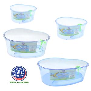 High-Plastic-Turtle-Lagoon-Kidney-Reptile-House-Terrarium-Habitat-w-Plant