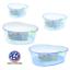 High-Plastic-Turtle-Lagoon-Kidney-Reptile-House-Terrarium-Habitat-w-Plant thumbnail 1