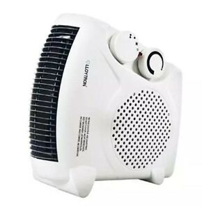 Image Is Loading Fan Heater Heat Settings Cool Thermostat Electric