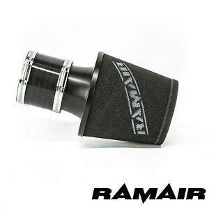 Ramair-Universal-Twin-Layer-Foam-Black-Air-Filter-With-80Mm-Id-Silicone-Coupling
