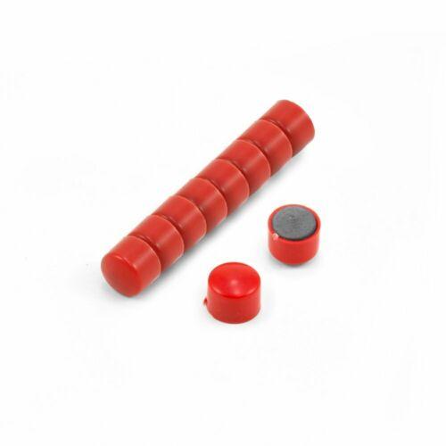 Piccolo budget ufficio magneti-rosso confezione da 10
