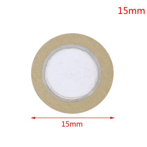 10Pcs 12-50mm piezo elements sounder sensor pad round trigger drum disc coppeSE