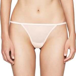 21e44be9ec Calvin Klein Women s CK SHEER MARQ Marquisette Fine Mesh Thong ...