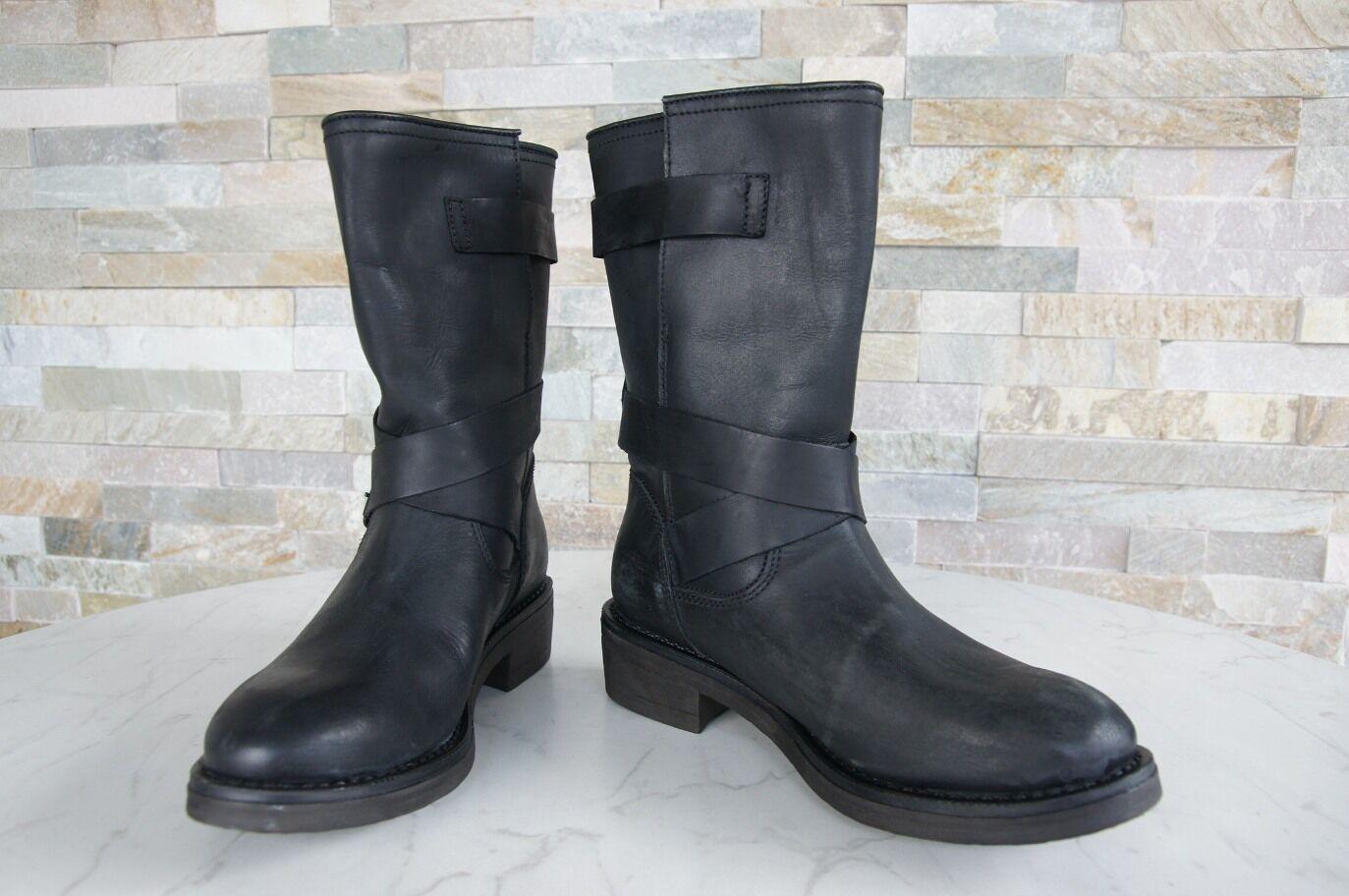 Napapijri Gr 36 Botines Botas Zapatos Maia Negras Negras Maia Nueva ae8d3a
