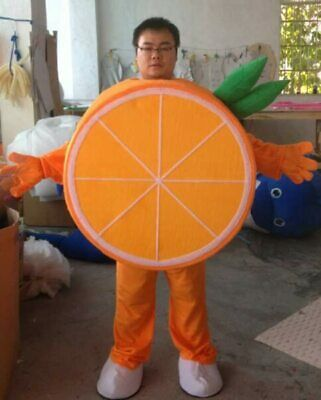 Details about  /Fruit Mascot Costume Cartoon Apparel Cosplay Advertisement Outfit Halloween