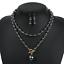 Fashion-Boho-Crystal-Pendant-Choker-Chain-Statement-Necklace-Earrings-Jewelry thumbnail 26