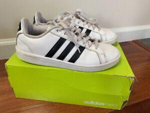 Adidas Women Neo CF Advantage Sneakers Shoes White Black Stripe ...