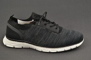 Details zu Rieker Herren Schnürschuh Sneaker Grau Sommer Schuhe NEU