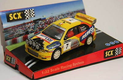 Kinderrennbahnen Scalextric Spain Seat Cordoba E2 Rac-rallye '00 No7 Auriol 100% High Quality Materials Knowledgeable Qq 60630 Scx-export
