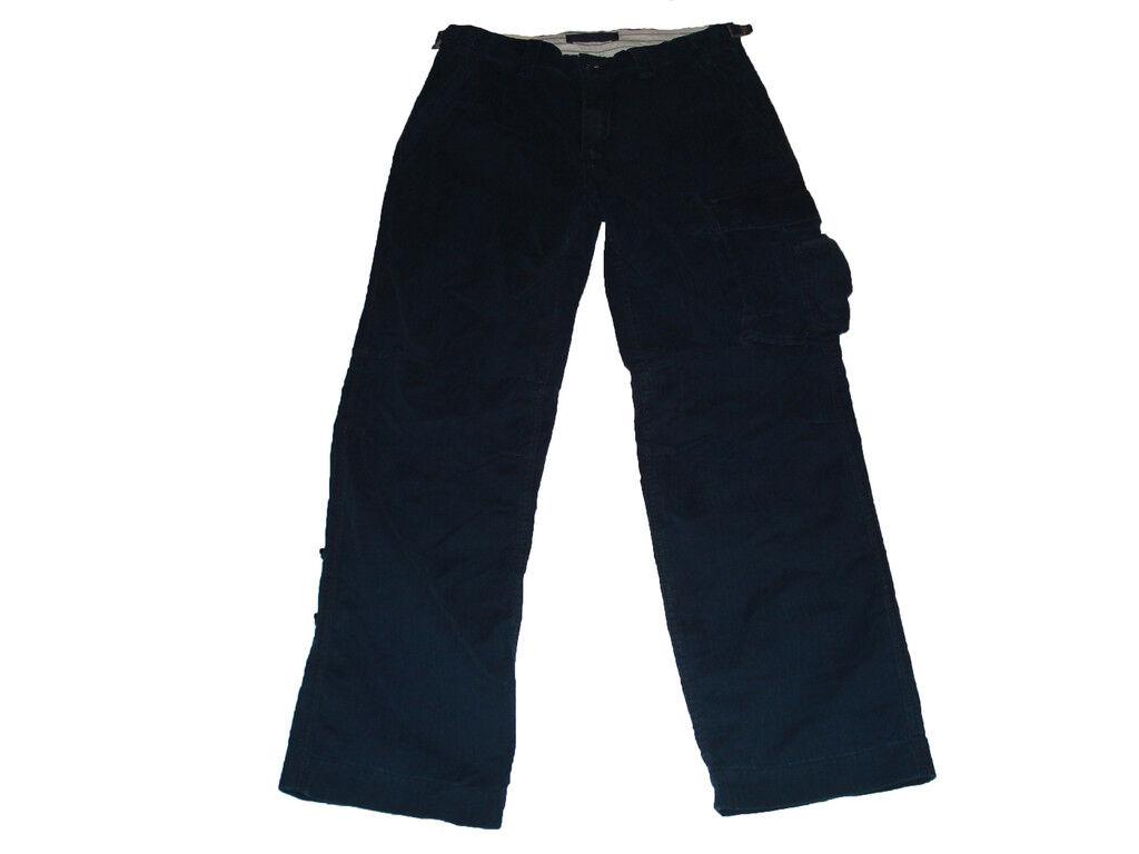 Polo Ralph Lauren bluee Safari Cargo Pants 33 x 32
