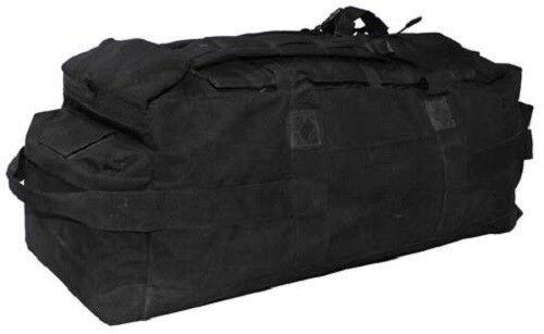 Seesack mit Trageriemen Kampfsack Rucksack Tasche schwarz groß gebr. Brit