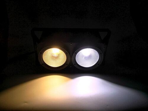 4pc/lot COB Light led blinder 2x100W led Blinder Wedding Light White Warm White