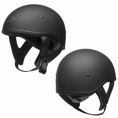 Bell Pit Boss Motorcycle Half Helmet Matte Black Adult size Small