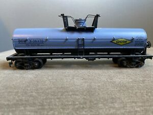VTG-Athearn-HO-Scale-DOW-X-38370-Single-Dome-Chemical-Tank-Car-Train-Car-RR