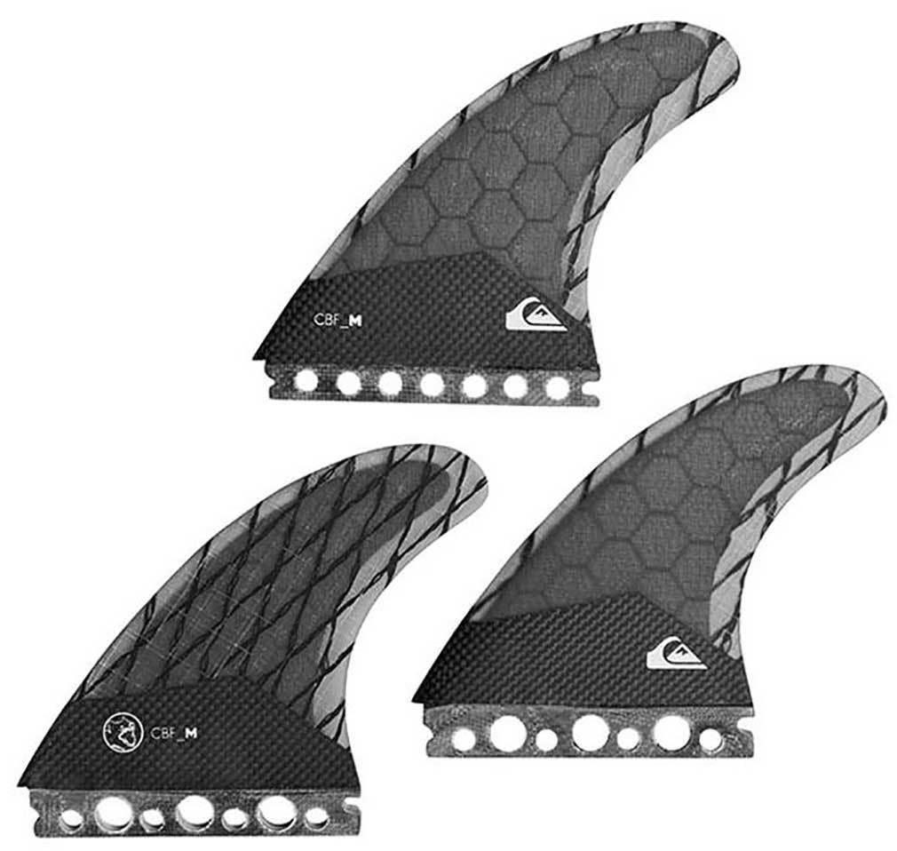 QuikPlata AG47 conjunto de aleta de SURFBOARD-Negro-M-Nuevo