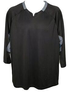 adidas-Fielders-Choice-2-0-Baselayer-Baseball-Shirt-3-4-Sleeve-Mens-Sz-L-Top-NWT