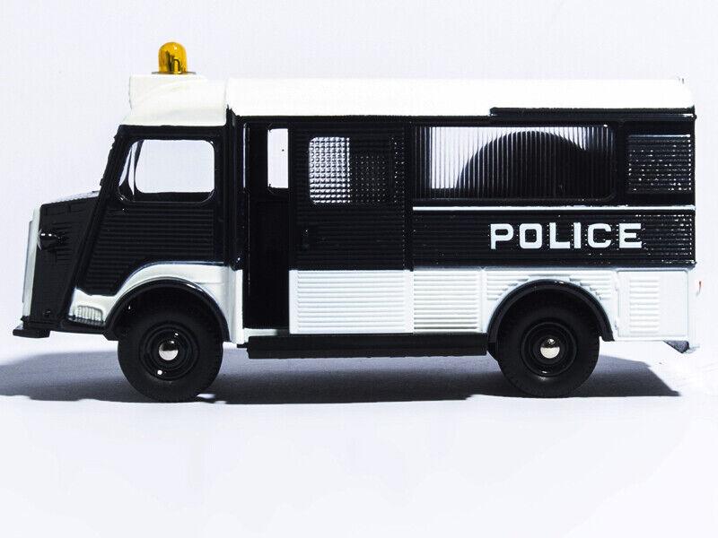 ATLAS 1 43 Moulé Sous Pression Modèle de voiture DINKY TOYS 566 voiture de police secours CITROEN-CURRUS