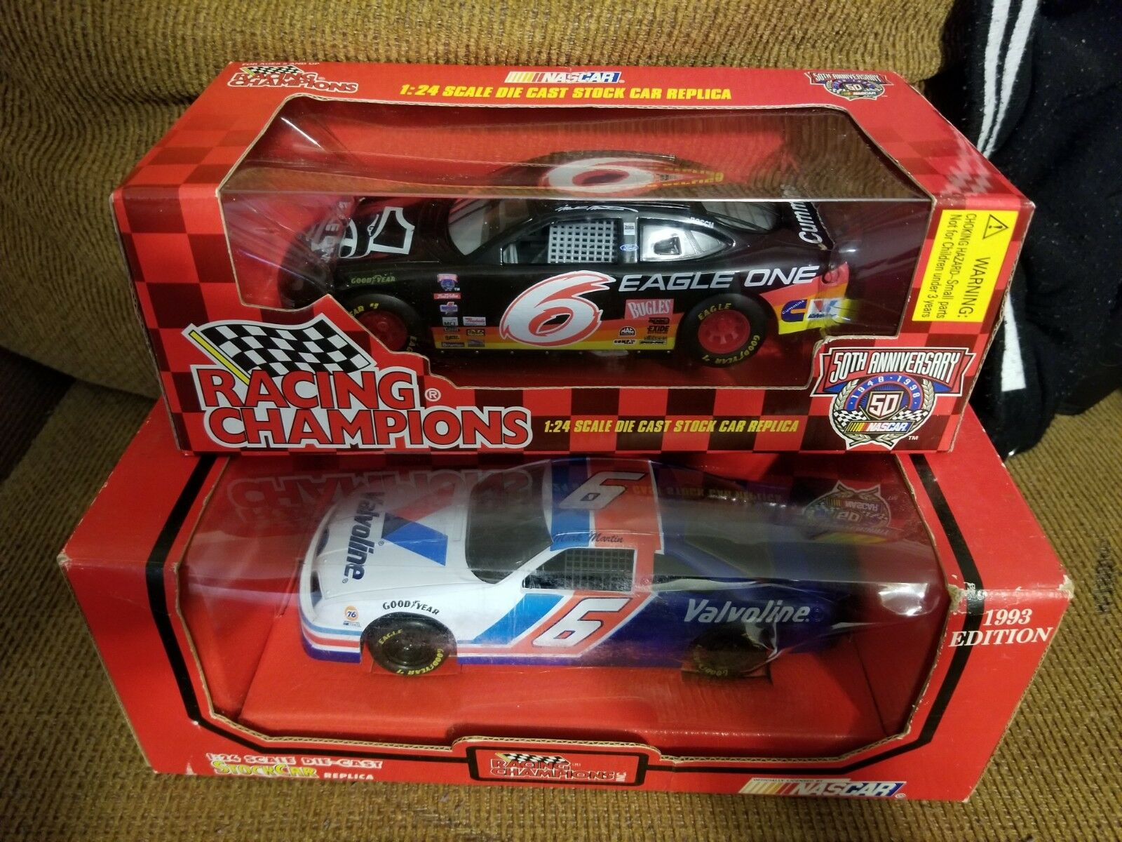 Two Racing Champions Mark Martin Ford 1 24 Scale