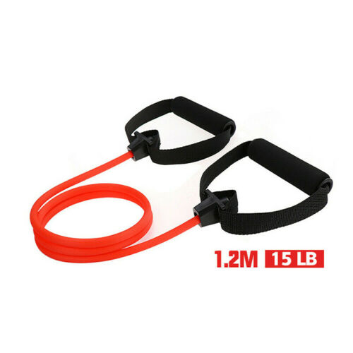 Fitness Exercise Cords Pull Rope Stretch Resistance Bands Elastic Yoga Train po