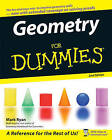 Geometry For Dummies by Mark Ryan (Paperback, 2008)