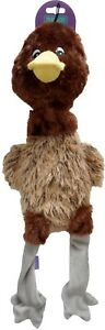 Hem-and-Boo-Fun-Duck-Big-Head-Dog-Toy-With-Squeakers-New-With-Tags