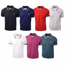 FILA Men's Ribbed Striped S/S Polo Shirt (Retail $50)