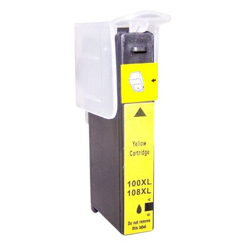 Lexmark 100XL Yellow Printer Ink Cartridge 14N1071E