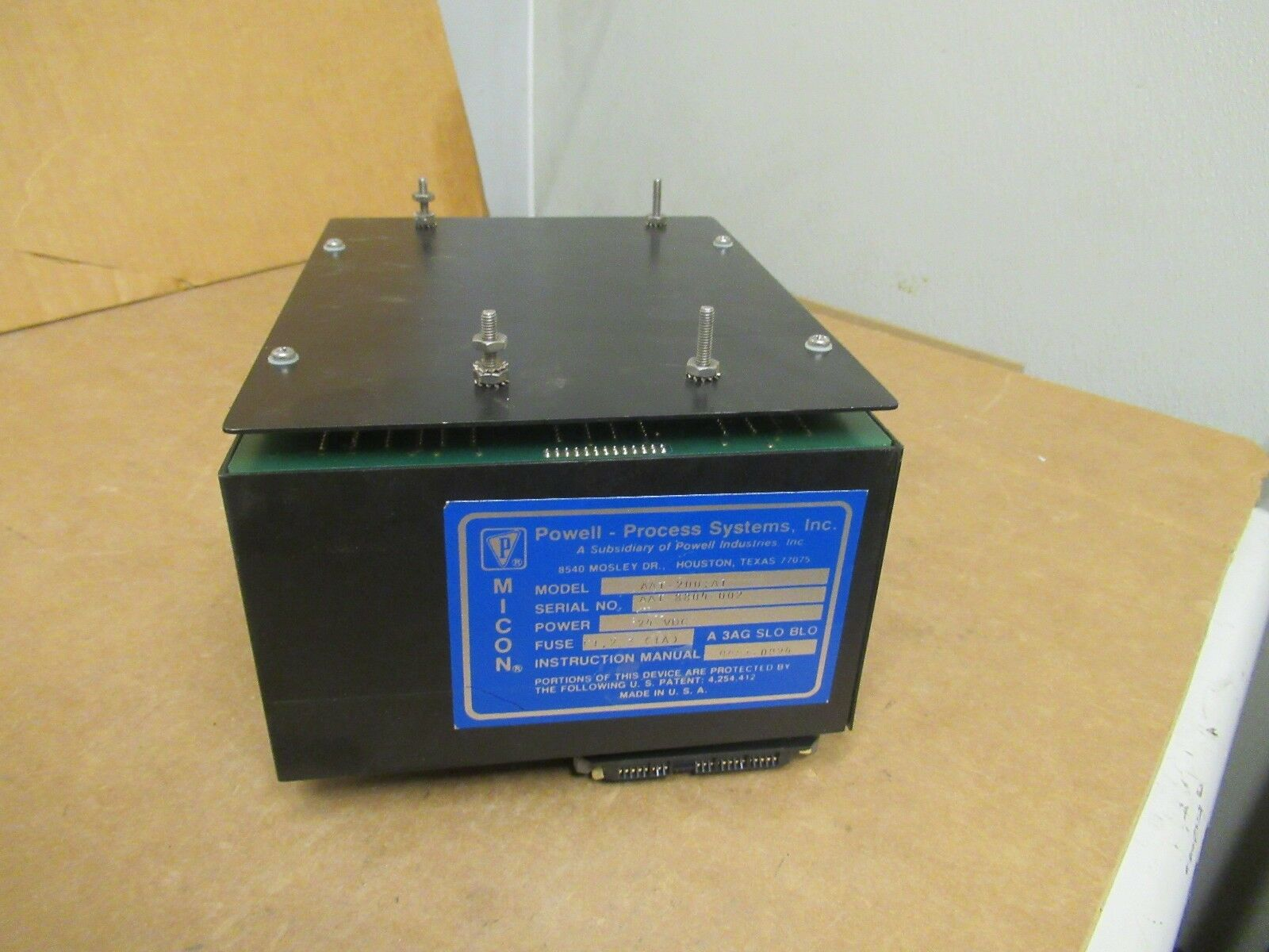 Powell Process Systems AAT-200 A1 AAT200A1 24VDC