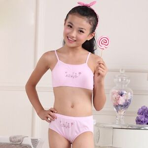 New Puberty Young Girl Student Teenagers Cotton Underwear