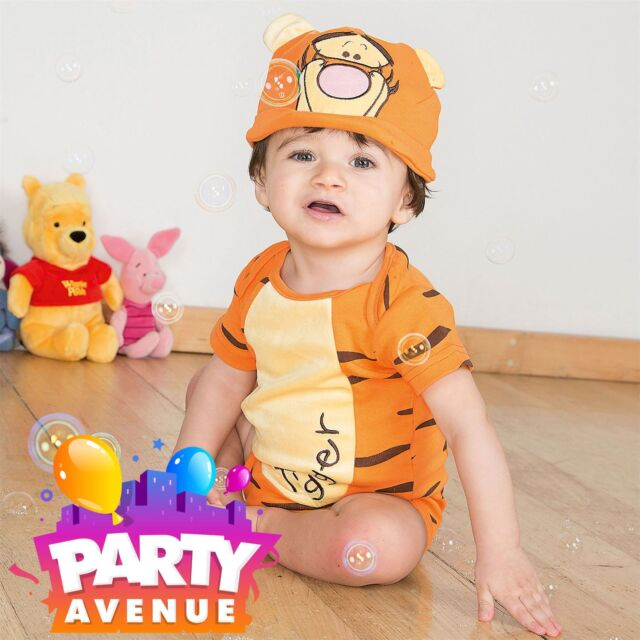 d141e5bbfde 12-18 Months Tigger Bodysuit With Hat by Disney Baby Costume for ...