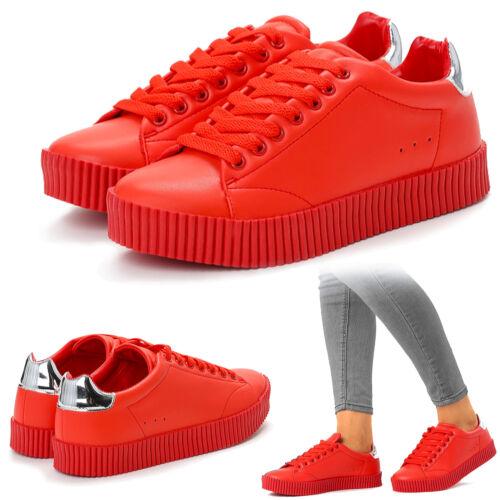 Creeper statura Rihanna Sneaker Femmes Chaussures De Sport laboration New