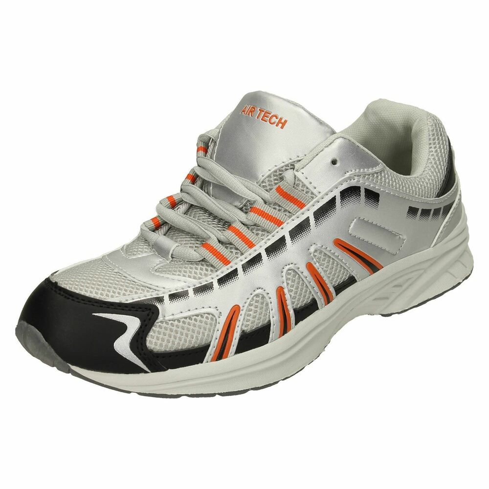 Airtech Baskets Hommes - Stingray - Argent/orange