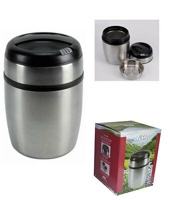 Thermos Portavivande termico con custodia ILSA inox 18//10 bevande picnic