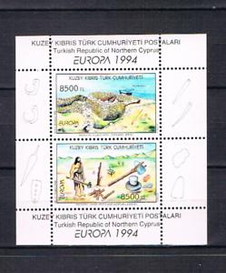 Cyprus-Turks-1994-Block-13-Entdeckungen-und-Erfindungen-postfrisch