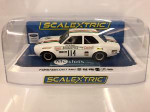 Scalextric-C3924-Ford-Escort-MK1-Escotilla-de-marcas-1971-Nueva-En-Caja