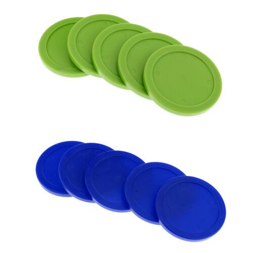 10 Stücke Durable Plastic 62mm Air Hockey Pucks für Full Size Air Hockey