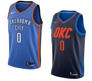 Oklahoma City Thunder Russell Westbrook Nike NBA Men's Icon Swingman Jersey