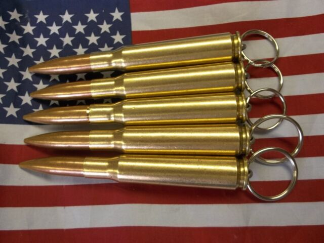 Lot of 8 Bullets Key Chains Great Deal