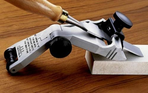 Wood Chisel Plane Blade Sharpener Spokeshave Sharpening Tool Guide Jig Angle